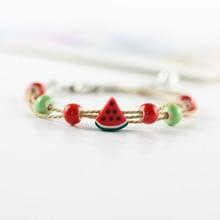 "15 Styles ""Color of the season"" cute Bracelet female cartoon couple sister Bracelet students simple sweet jewelry Christmas Gift"