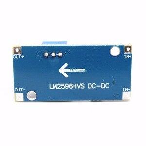 Image 4 - 50 יחידות 48 V מודול רגולטור מתח מתכוונן DC DC LM2596HVS להזין 4.5 60 V