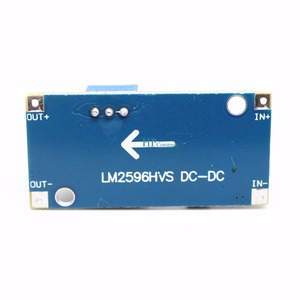 Image 4 - 50 ADET 48 V ayarlanabilir voltaj regülatör modülü DC DC LM2596HVS Giriş 4.5 60 V