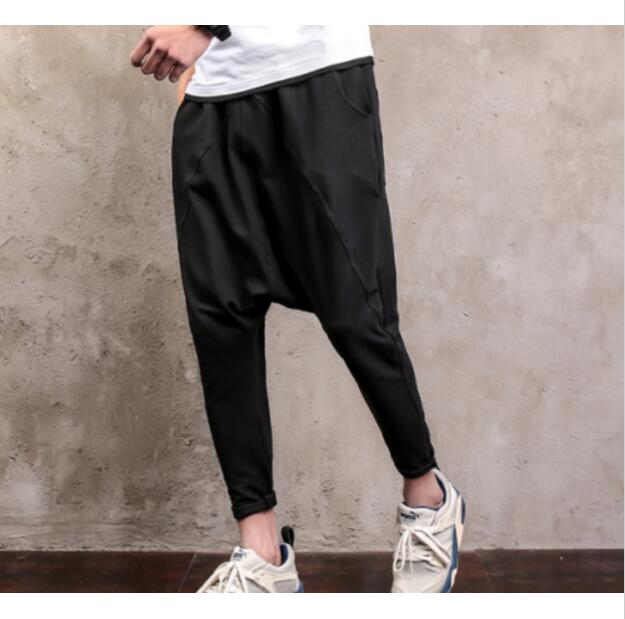 7fded8929fa Mens Harem Casual Pants Slacks Korean Hip Hop Street Oversize Trousers E-in  Harem Pants from Men s Clothing on Aliexpress.com