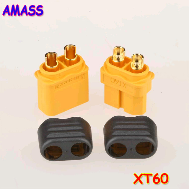 5pair/lot AMASS Ai Maisi upgraded version with a jacket XT60 +plug the new high-current battery power transfer plugs