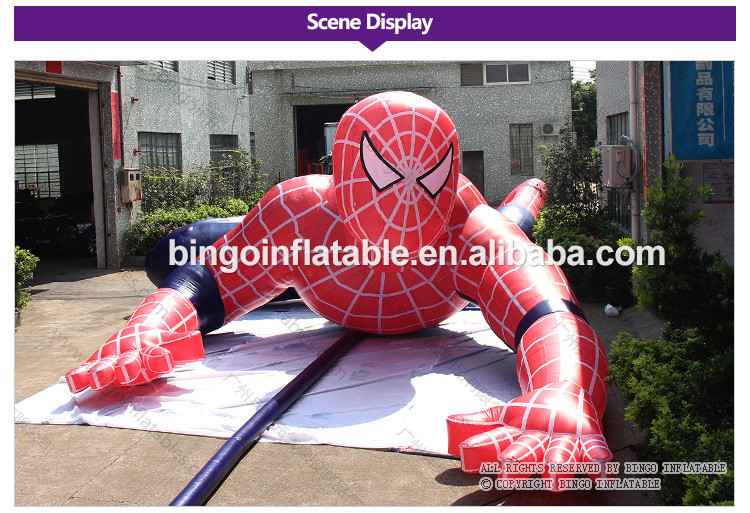 BG-A1227-Spiderman-Climbing-the-wall-bingoinflatables_02