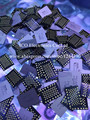Para iphone 6 6g 4.7 pulgadas 128 gb disco duro de memoria flash nand hd ic chip programado con imei número de serie. iCloud desbloquear