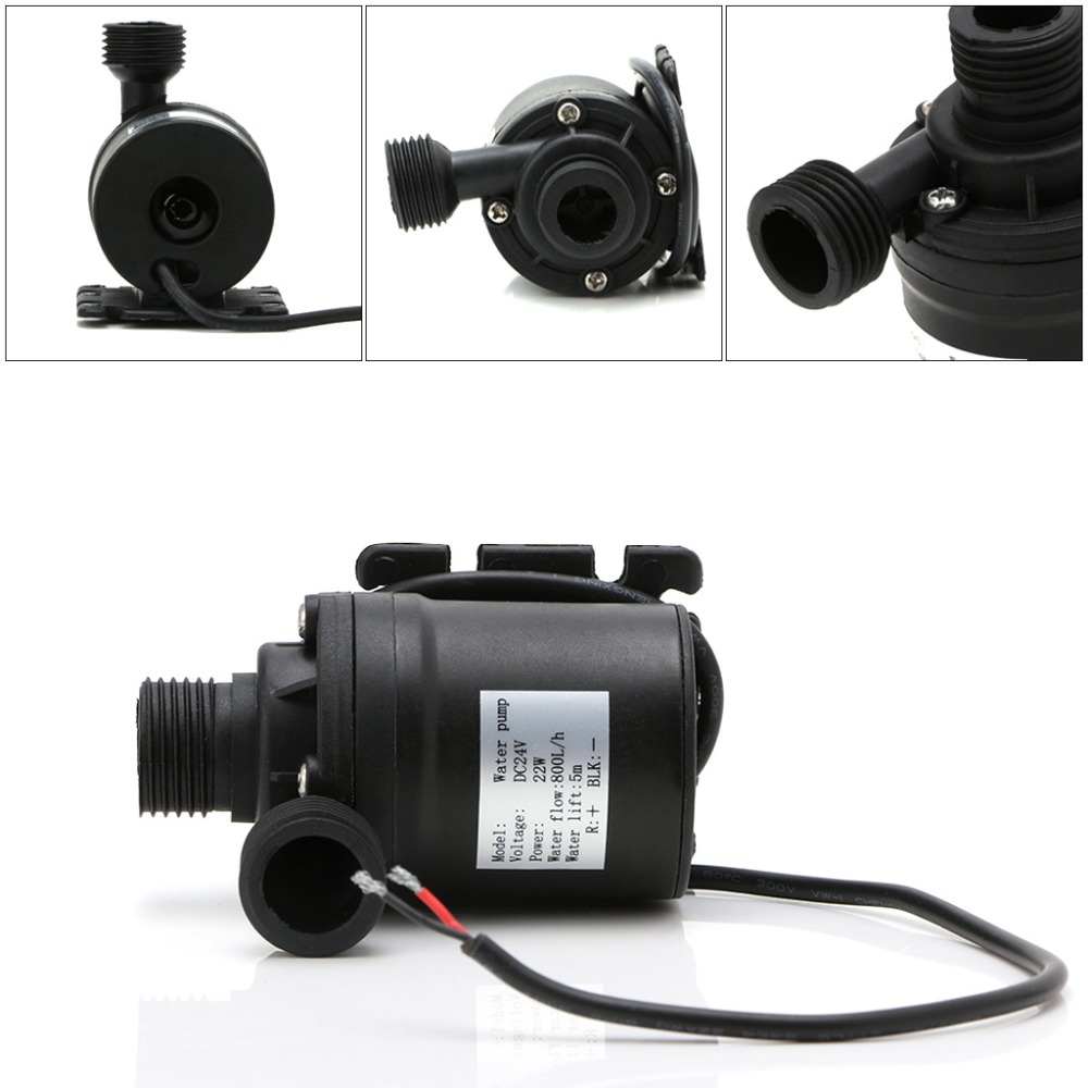 800L/H 5m DC 12V 24V Solar Brushless Motor Water Circulation Water Pump Submersibles Water Pumps 2