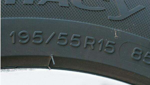 specific size on tire