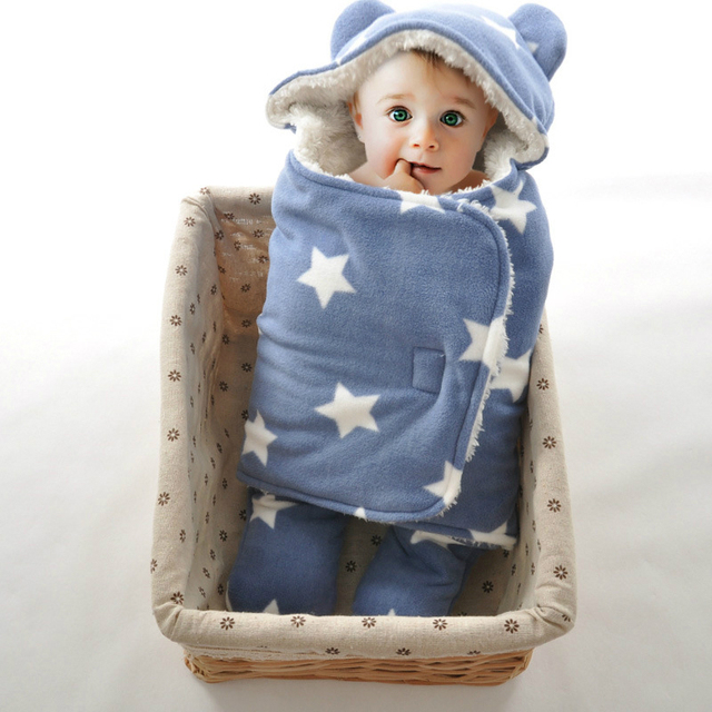 Super Soft Newborn Infant Baby Swaddle Wrap Baby Sleeping Bag Double