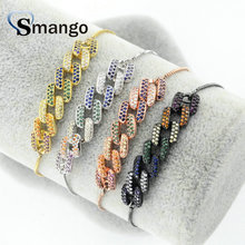 5Pieces The Rainbow Series Women Fashion Interlaced Shape Bracelet,4 Plating Colors,Can Mix,Can Wholesale