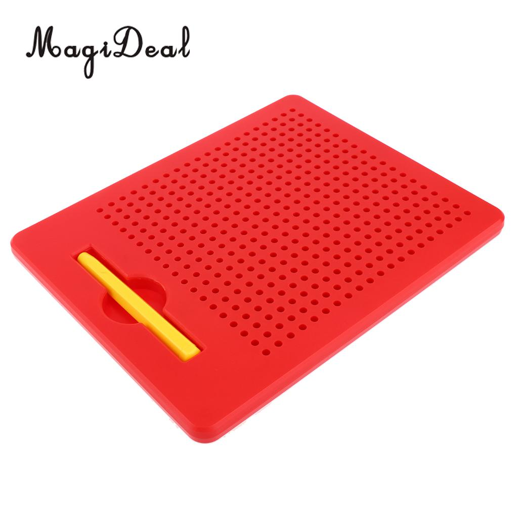 Magnetic Tablet Magnet Drawing Board Pad for KIds Baby Toddler Writing Doodle Educational Art Toy Draw Learning 2Colors ...