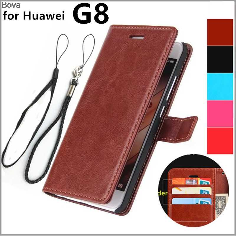 Coque Huawei G8 card holder cover case for Huawei Ascend G8 leather phone case ultra thin wallet flip cover Quality Holster