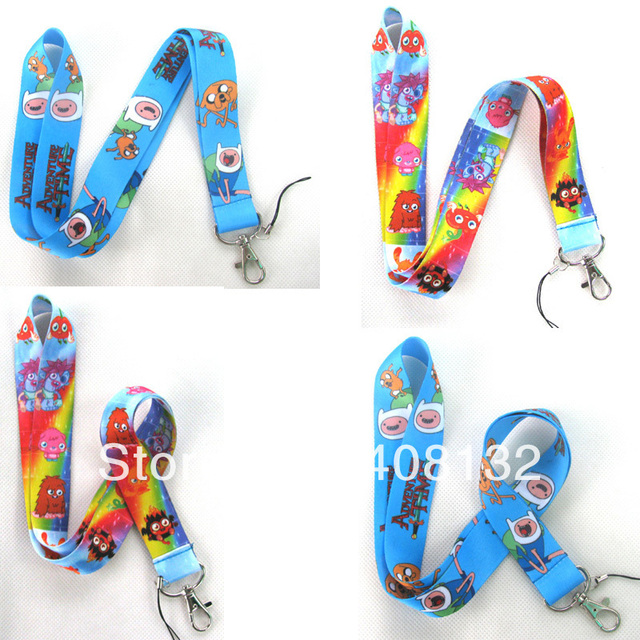 New Arrive spirit & Adventure Time cute Cell PHONE LANYARD KEYS ID NECK STRAPS