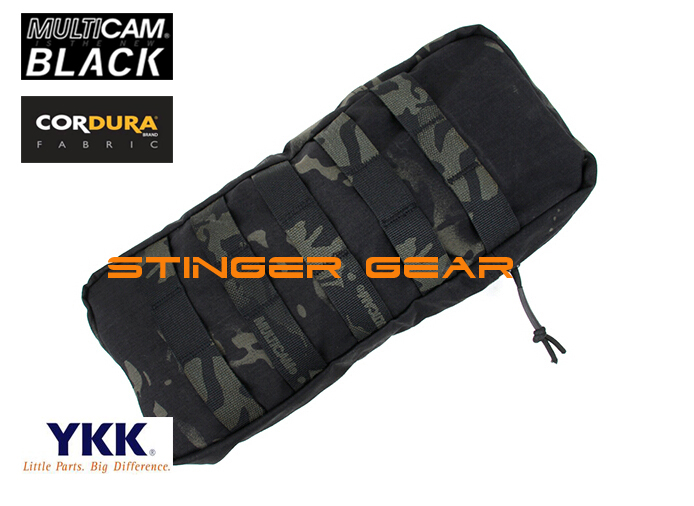 TMC CP style 330 Hydro Pouch MOLLE Hydration Tactical Gear Multicam Black+Free shipping(SKU12050247) tmc lbt 6142 27oz molle tactical hydration pouch multicam tropic modular source hydration bag free shipping sku12050204