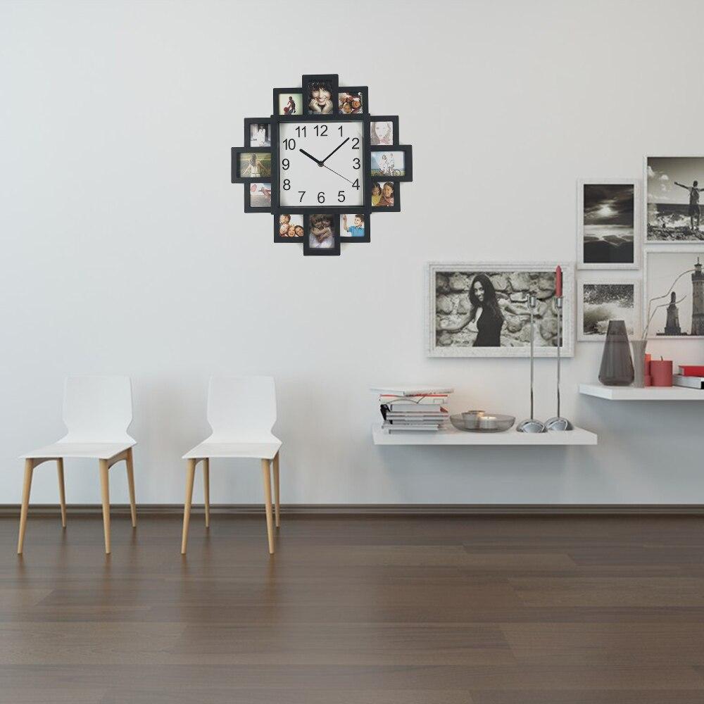 DIY Ρολόι Κορνίζα 2019 Νέο Ρολόι Τοίχου DIY - Διακόσμηση σπιτιού - Φωτογραφία 6