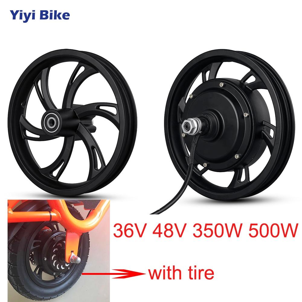Electric Bike Front Rear Non-Gear Hub Motor For MTB Engine 36V 350W EBike