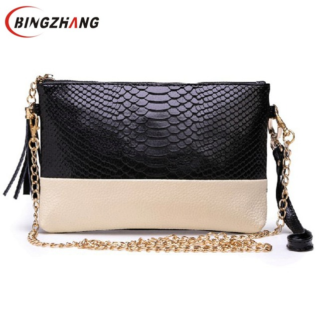 Aliexpress.com : Buy Free shipping leather Tassel handbags ...