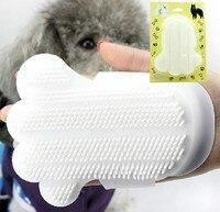 Handy Животные Массаж Ванны Кисти Перчатки Тип Собаки Уход Ванна Чистой Щеткой Высококачественной Кошки Душ Кисть Комбс