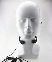 עבור שני הדרך גמיש גרון מיקרופון מיקרופון Covert אקוסטית Tube אפרכסת אוזניות עבור YAESU VX ורטקס-3R 5R FT50R 60R 210A שני הדרך רדיו (5)