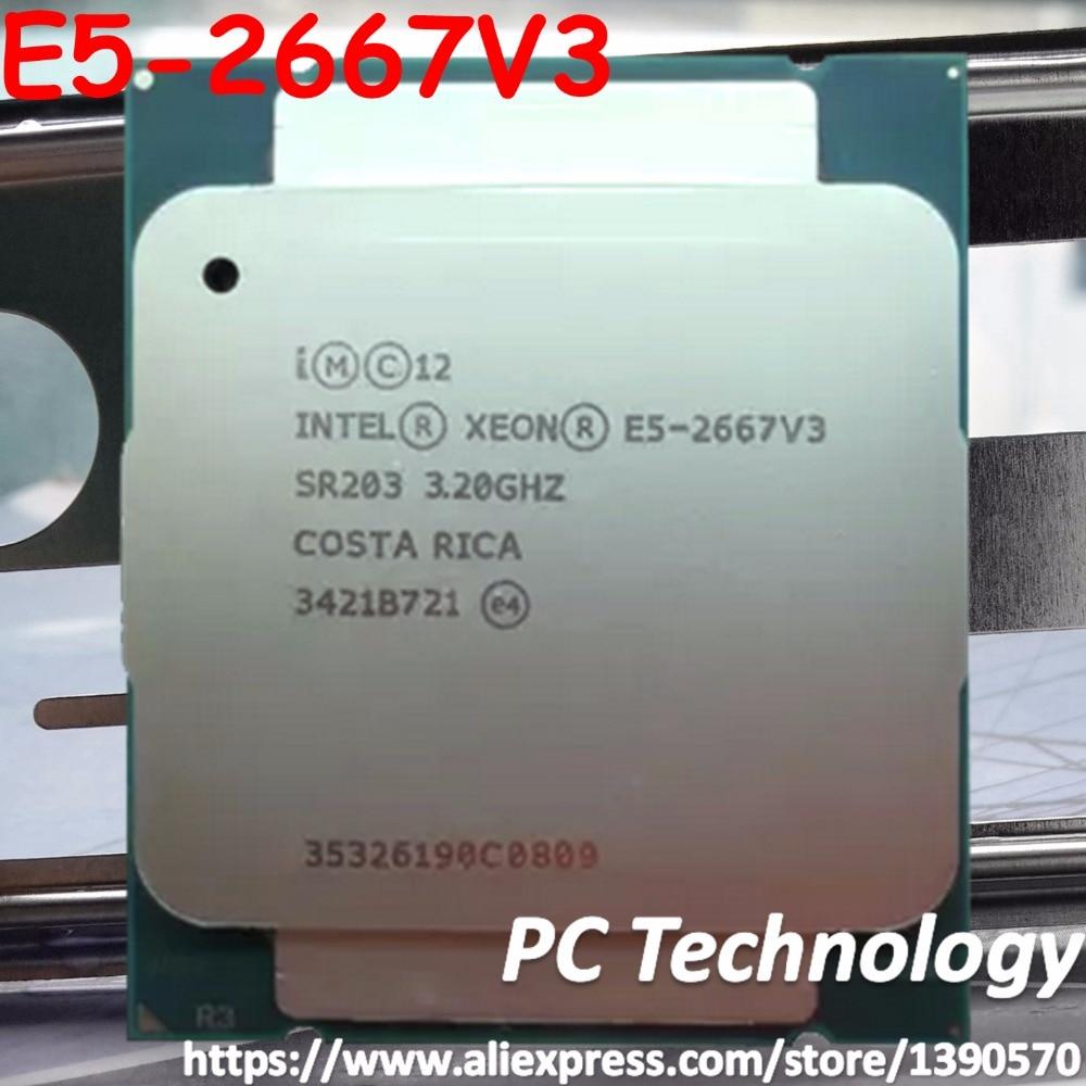 Original Intel Xeon OEM verison E5 2667V3 CPU E5 2667V3 3 2GHz 8 Core 20M LGA2011