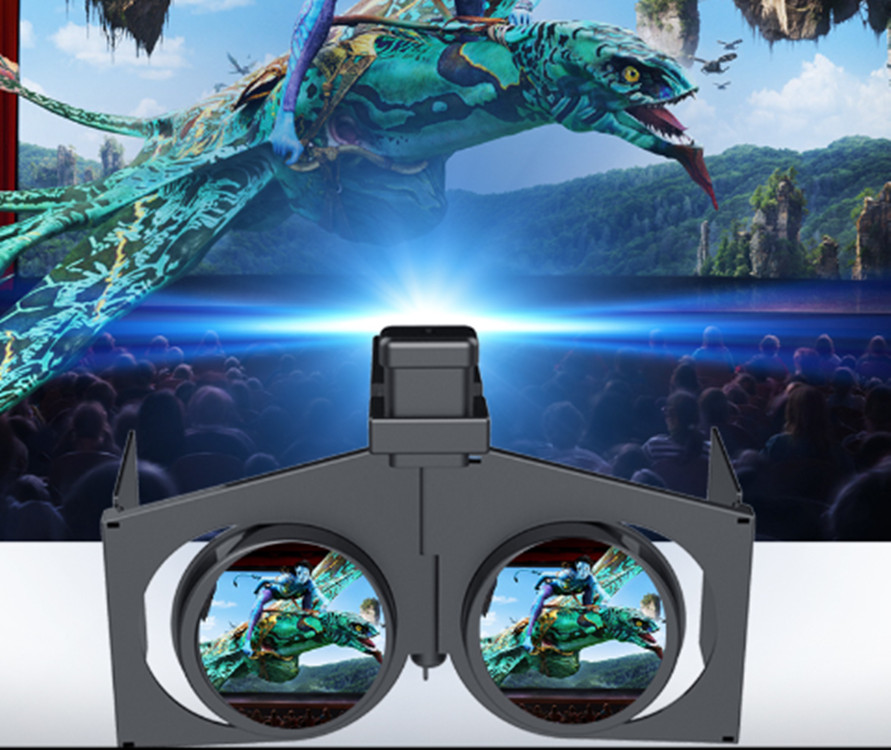 10PCS/LOT 3D VR Glasses Virtual Reality Headset Movie Game Universal for iPhone  All 4.0 to 6.0 Inches Android iOS Smart Phones