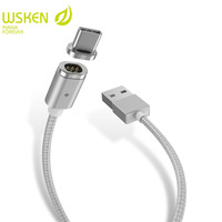WSKEN X Cable Mini 2 Magnetic Cable USB Type C Cable For SAMSUNG S8 Plus HUAWEI