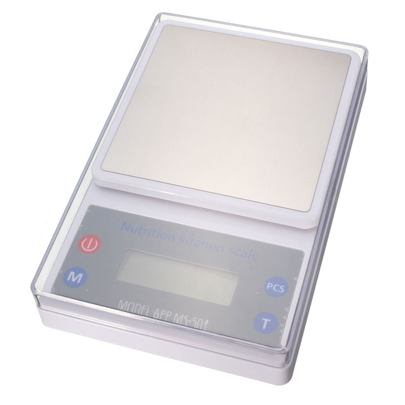 5kg/1g Electronic APP Kitchen Scale Wireless Bluetooth Smart Digital Nutritional Balance Scale For IOS For Android  цены