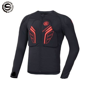 NEW 2018 RED Men's Auto Motorcycle Racing Jacket Off-Road Motocross Protective Gear Armor body Protector Sportswear