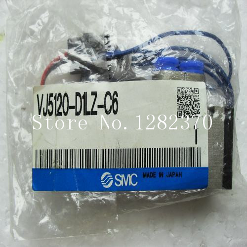 где купить [SA] New Japan genuine original SMC solenoid valve VJ5120-D1LZ-C6 spot --2PCS/LOT по лучшей цене