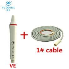 Gigi pemutih ultrasonic scaler gigi handpiece dan kabel scaler untuk EMS / WOODPECKER