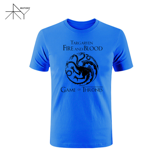 Fire and Blood House of Targaryen Men T-Shirt