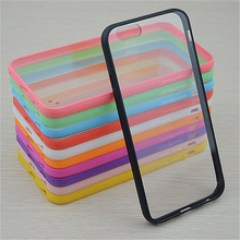 For iphone x xs xr xs max phone case Ultra thin Candy color Acrylic back cover for iphone 5 5S 8 7 plus 6 6S Plus TPU Cases
