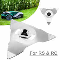 Replacement Blades For RS RC Models Mowing Robots Garden Lawn Mower Parts Cutter Blade Trimmer Garden Grass Trimmer Accessories