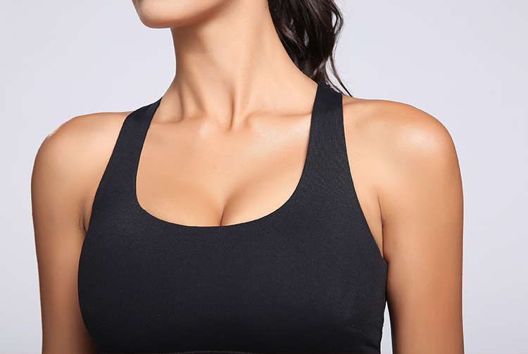 Wireless Push Up Sport Bra
