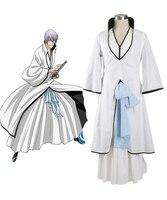 Ichimaru Gin Cos Anime BLEACH Cosplay Man Woman Halloween Japanese Cosplay Costume