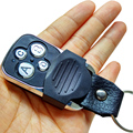 Electric 4-Channel Cloning 433MHZ Garage Door Remote Control Transmitter Duplicator Rolling Code Face to Face Key Fob Universal