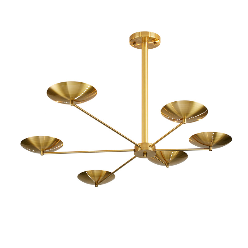 Postmodern LED chandelier ceiling Nordic luxury hanging lights bedroom lighting fixtures living room pendant lamps