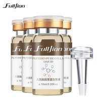 Fulljion 1Pcs Six Peptides Pure Collagen Protein Liquid Hyaluronic Acid Anti-Wrinkle Anti Aging Face Serum Moisturizer Skin Care