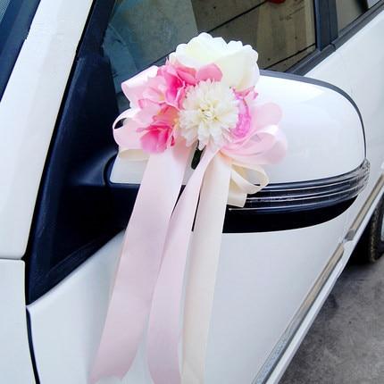Ruban de soie fleurs achetez des lots petit prix ruban - Decoration de voiture de mariage a petit prix ...