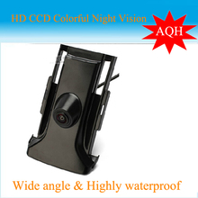 Free shipping HD CCD car front view parking camera for Toyota prado 2014 night vision waterproof