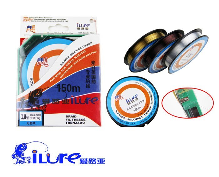 Fluorocarbon fishing line in fishing lines from sports for Fluorocarbon fishing line
