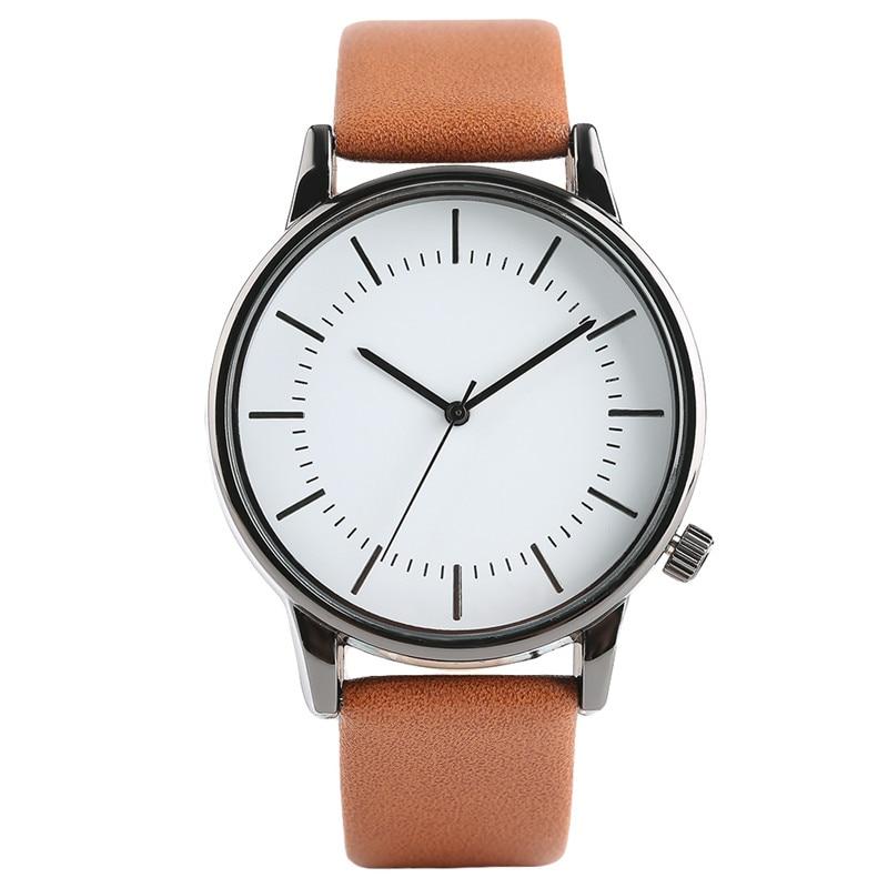 Fashion Men Unisex Quartz Sport Casual Luxury Male Wrist Watch Cool Women Pin Buckle Leather Band