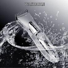 Draadloze Tondeuse Professionele Waterdichte Baard Trimmer Oplaadbare Haar Scheermes Waterbestendig Haar Snijmachine 40