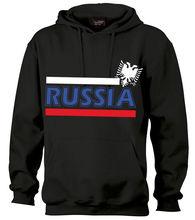 Russland Sweatshirt Russia Hoodie Hooded Kapuzenpulli bis 3XL Hoodies Sweatshirts