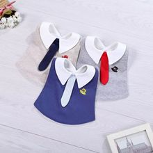 Baby Bibs Baberos Babador Bavoir Accessories Cotton Gray Tie Burp clothing Waterproof Bib baby clothes