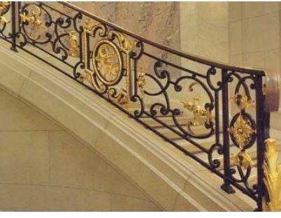 Modern Stair Railing Metal Railing Designs Interior Iron Railing | Modern Iron Stair Railing | Handrail | Before And After | Glass | Ornamental | Elegant