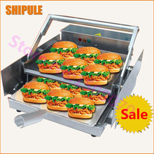 Bread bakery machine commercial industrial hamburger heating machine hamburger heater baked hamburger machine