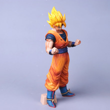 Dragon Ball Z 30cm Grandista ROS Resolution of Soldiers Son Goku Gokou PVC Figure Collectible Model Toy