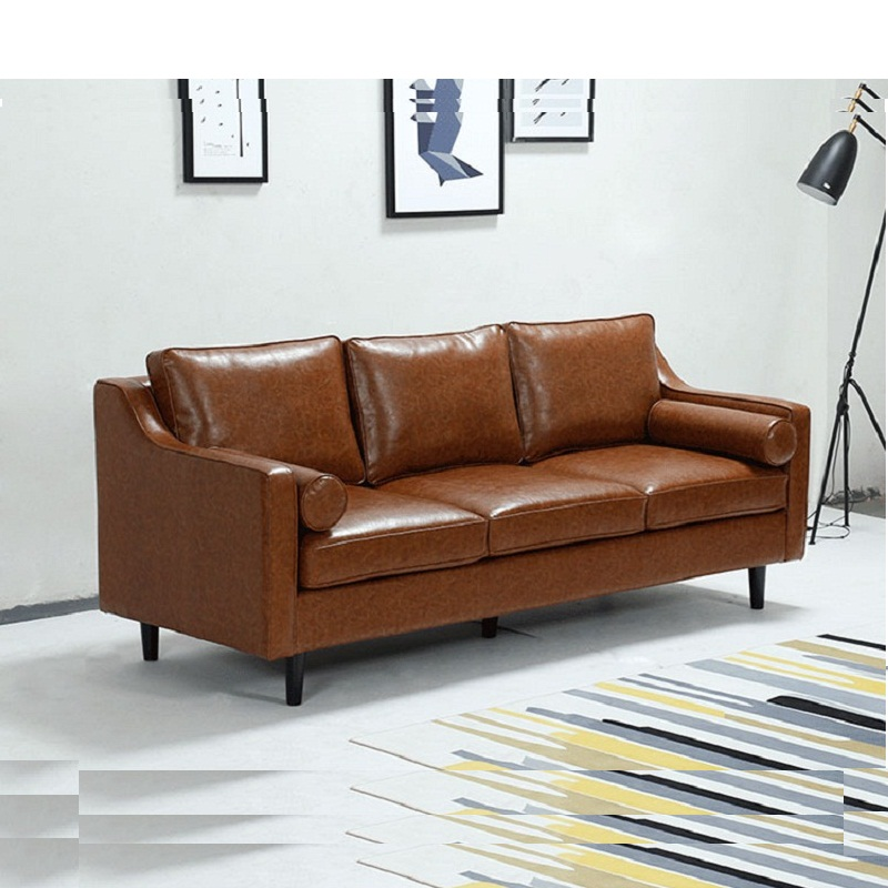 U BEST living room lounge furniture 2 seater leather couch ...
