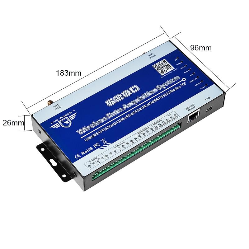 Trådløst LoRa Data Acquisition System GSM SMS Remote Controller - Sikkerhed og beskyttelse - Foto 5