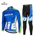 Мужская одежда для велоспорта с длинными рукавами, комплект из Джерси для велоспорта, спортивная форма MTB, одежда для велоспорта, облегающая...