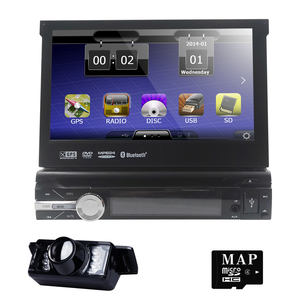 1din cardvd gps navigation player to old car models radio music bluetooth rear view camera sd. Black Bedroom Furniture Sets. Home Design Ideas
