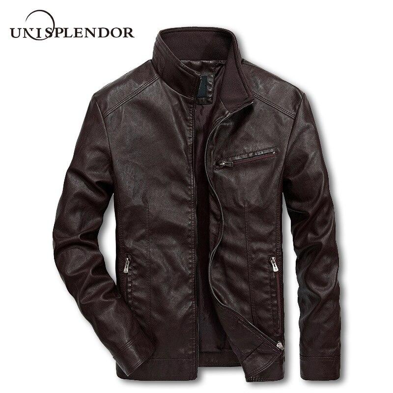 2018 Для мужчин мотоцикл костюмы Для мужчин осень-весна Курточка бомбер Повседневное мужской пилот куртки, модные мужские пальто YN10192 ...